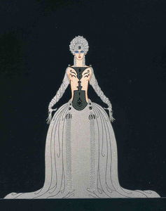 Erté (Romain De Tirtoff) - Kissing