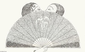 Erté (Romain De Tirtoff) - Love's Screen