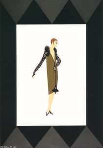 Erté (Romain De Tirtoff) - Manhattan Mary 2