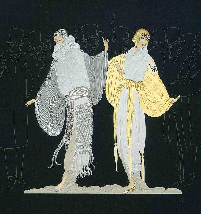 Opening Night by Erté (Romain De Tirtoff) (1892-1990, Russia) | Museum Quality Reproductions | WahooArt.com