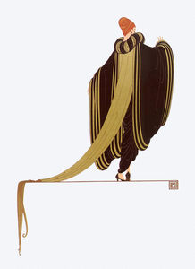 Erté (Romain De Tirtoff) - Ready for the Ball 1