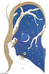 Erté (Romain De Tirtoff) - Seasons- Winter
