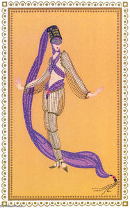 Erté (Romain De Tirtoff) - Sheerazade, A Thousand and Second Night