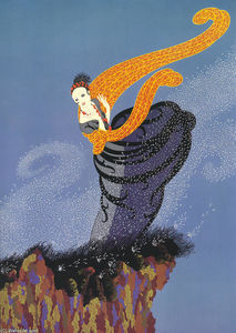 Erté (Romain De Tirtoff) - Summer Breeze
