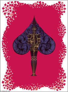 Erté (Romain De Tirtoff) - The Aces Spades