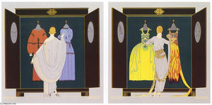Erté (Romain De Tirtoff) - The Choice