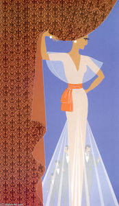 Erté (Romain De Tirtoff) - The Curtain