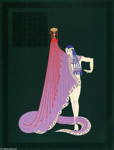Erté (Romain De Tirtoff) - The Slave