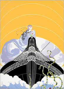 Erté (Romain De Tirtoff) - The Surprises Of The Sea