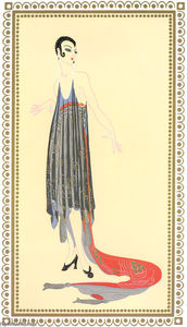 Erté (Romain De Tirtoff) - Vamps, Circe