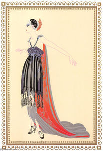 Erté (Romain De Tirtoff) - Vamps, Seductress