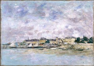 Eugène Louis Boudin - The Port, Trouville