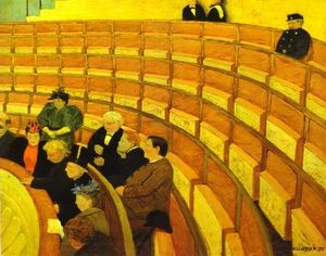 Felix Vallotton - The Third Gallery at The Theatre