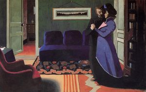 Felix Vallotton - The Visit