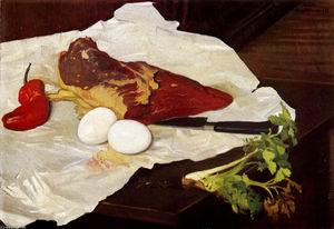 Felix Vallotton - Meat and eggs