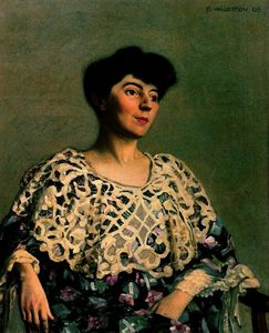 Felix Vallotton - Marthe Mellot (wife of Alfred Natanson)