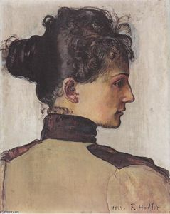 Ferdinand Hodler - Portrait of Berthe Jacques