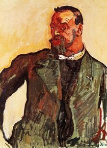 Ferdinand Hodler - Self portrait