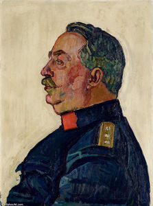 Ferdinand Hodler - Portrait of General Ulrich Wille