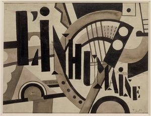 Fernand Leger - The Inhuman