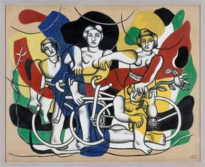 Fernand Leger - The four cyclists