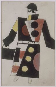 Fernand Leger - Project Costume Skating Rink