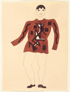 Fernand Leger - Draft costume (Front)