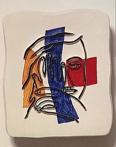 Fernand Leger - Face with both hands