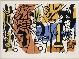 Fernand Leger - The two women, two sisters