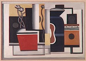 Fernand Leger - Red Pot