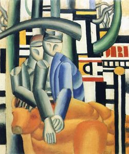 Fernand Leger - The Butcher Shop