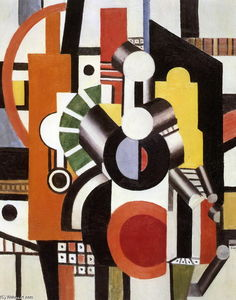 Fernand Leger - Machine elements