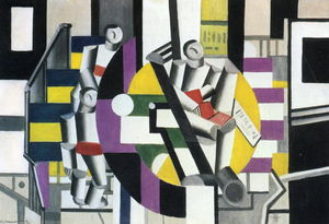Fernand Leger - Three characters