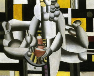 Fernand Leger - Two Women and still life 1st state