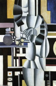 Fernand Leger - Two women with the toilet, final state