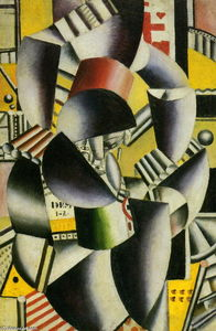 Fernand Leger - Man and Woman