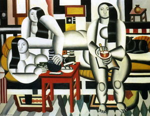 Fernand Leger - The Breakfast