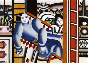 Fernand Leger - The Woman and the child