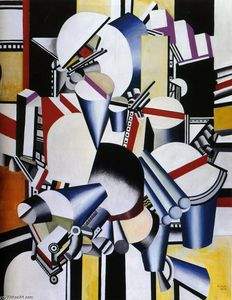Fernand Leger - Mechanical compositions