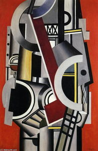 Fernand Leger - Machine element