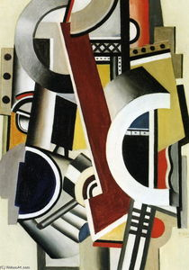 Fernand Leger - Machine element 1st state