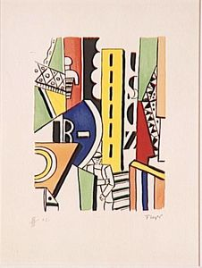 Fernand Leger - Man in Town