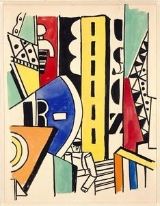 Fernand Leger - Study for The City