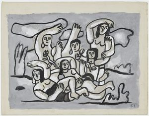 Fernand Leger - The Bathers