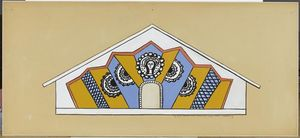 Fernand Leger - Fourth state, church of Assy
