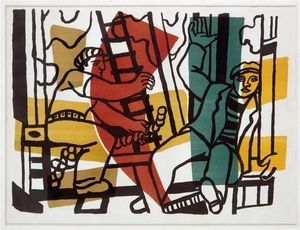 Fernand Leger - The Builders (outside color)