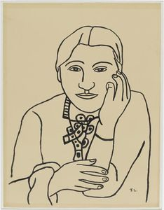 Fernand Leger - Portrait of Nadia