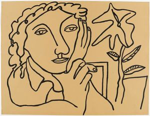 Fernand Leger - Study of Women at the plant