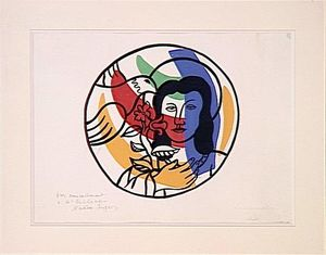 Fernand Leger - The Annunciation