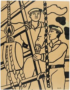 Fernand Leger - The two sailors